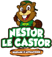 Eco-parc d'attraction Nestor le Castor Logo